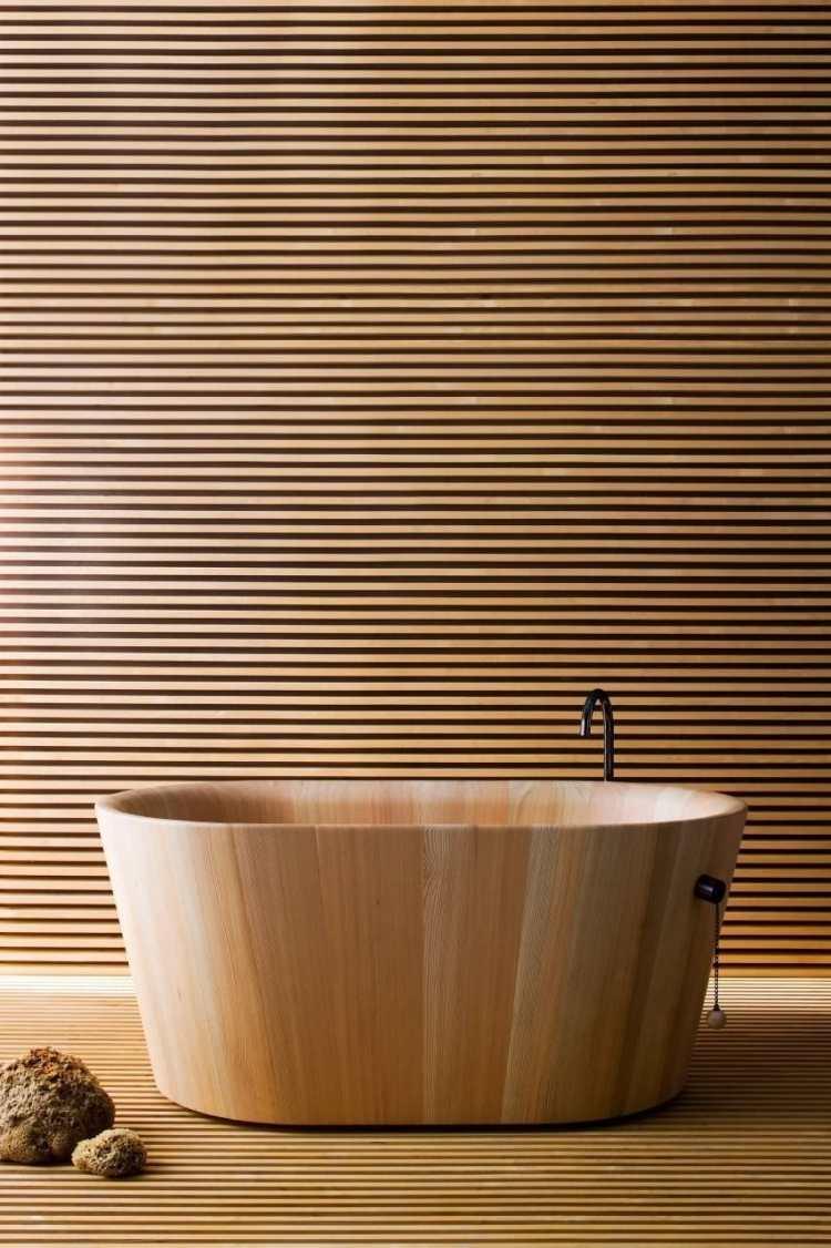 Badmbel aus Holz  50 moderne Sets frs Bad