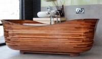 Badmbel aus Holz - 50 moderne Sets frs Bad als Inspirationen