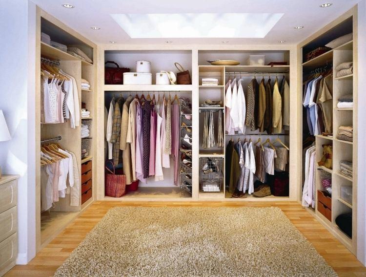 Begehbarer Kleiderschrank Selber Bauen  Tipps Und Ideen