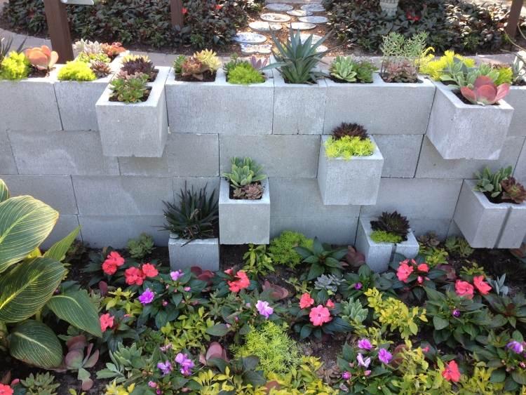 beton gartenmauer streichen | moregs, Garten und erstellen
