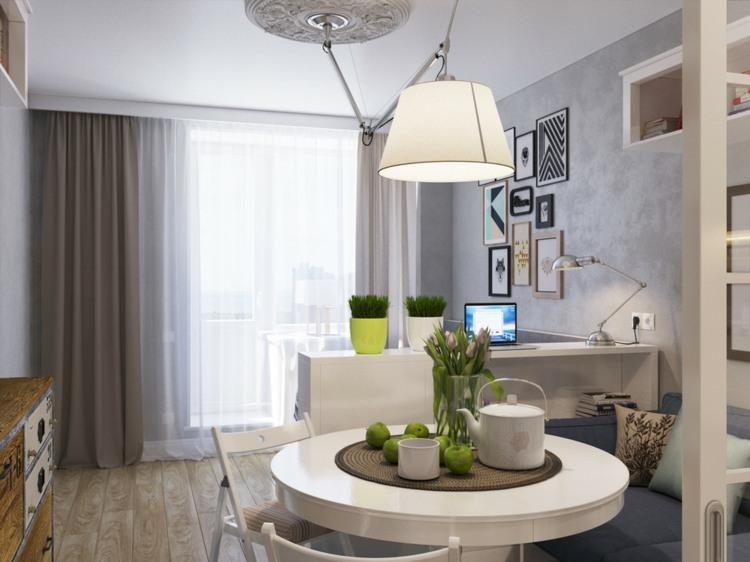 Mini Apartment Design Ideen  Einen kleinen Raum einrichten