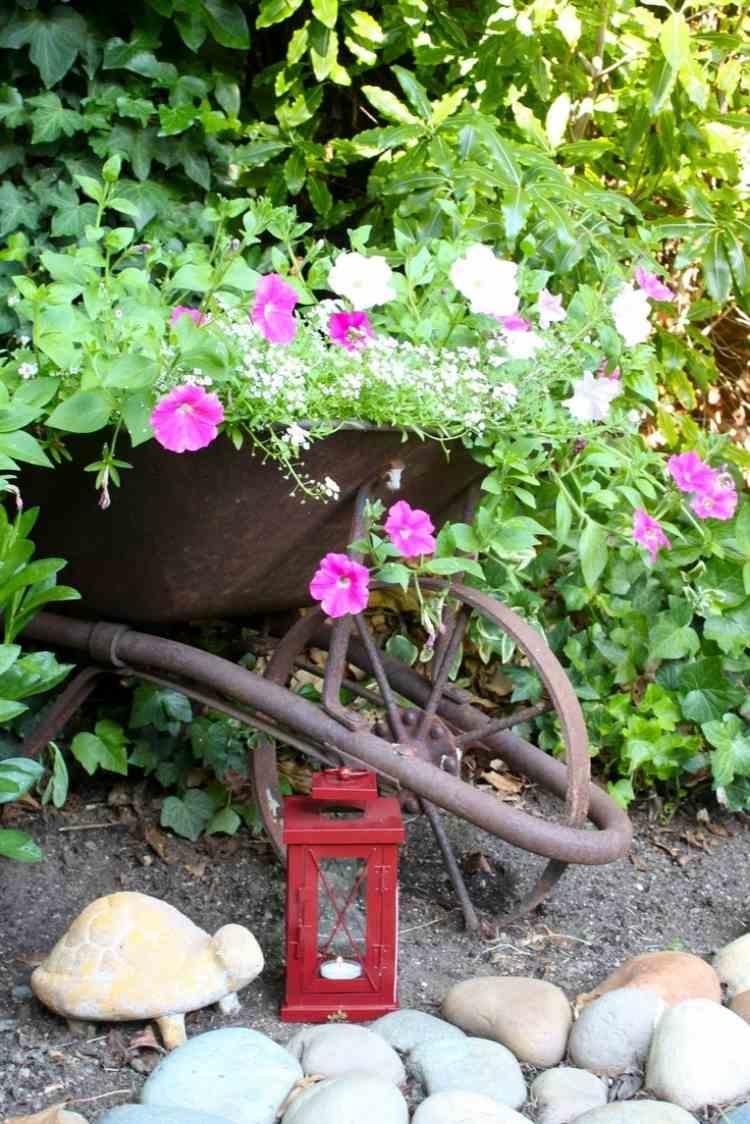Gartendekoration selber machen fr Beet und Terrasse