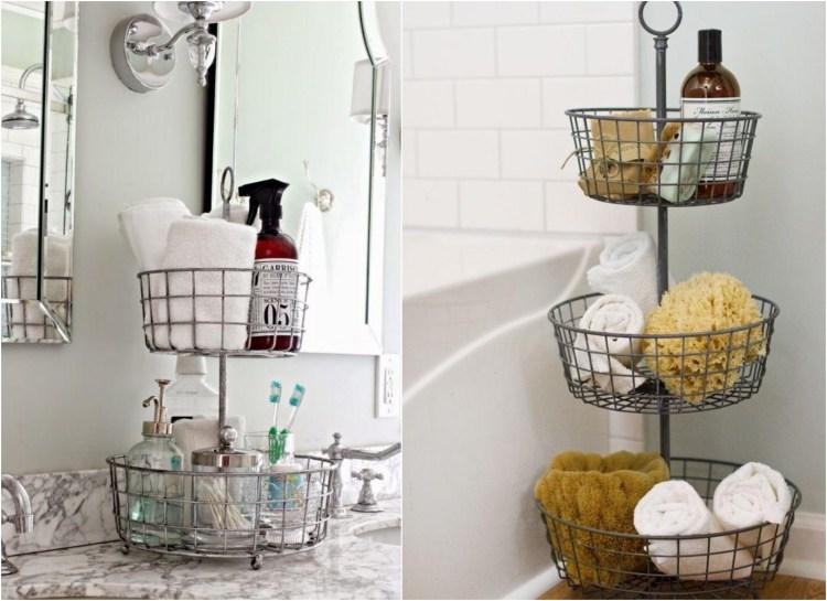 Ideen frs Bad  Gnstige Dekorationen und mehr Stauraum