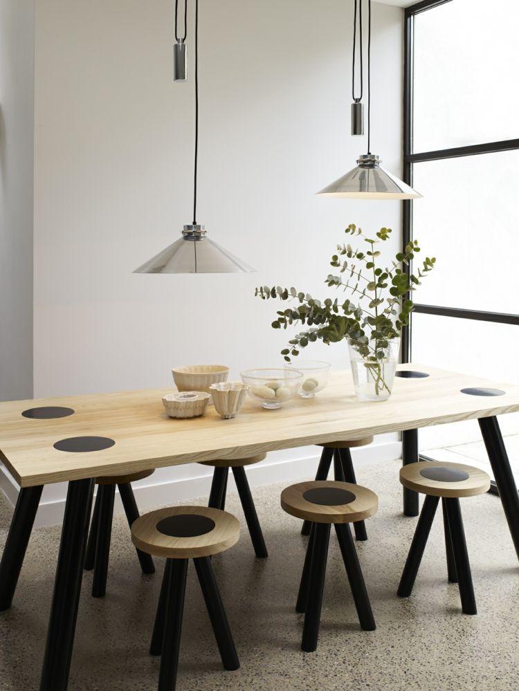 Esszimmerlampen Ideen  25 Modelle verschiedener Designer