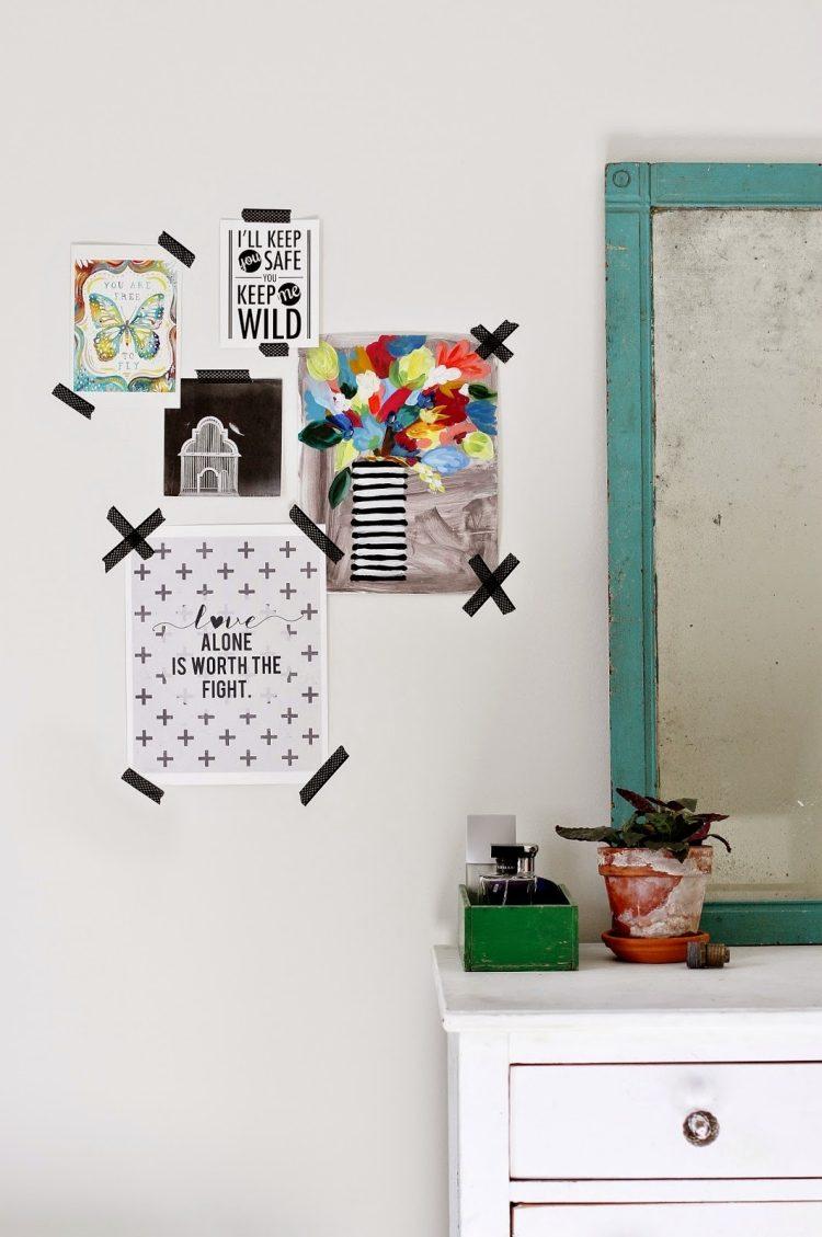 Kinderzimmer Wandgestaltung Selber Machen Mädchen Wandgestaltung