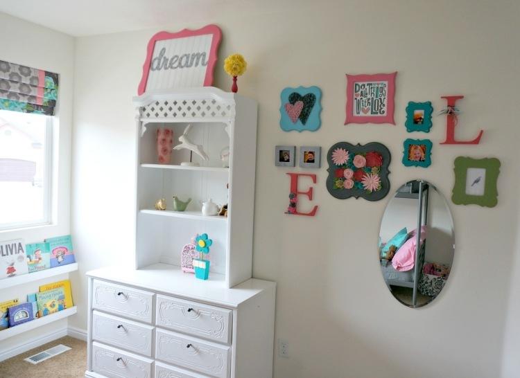 Kinderzimmer Deko selber machen  55 Ideen fr Mdchen