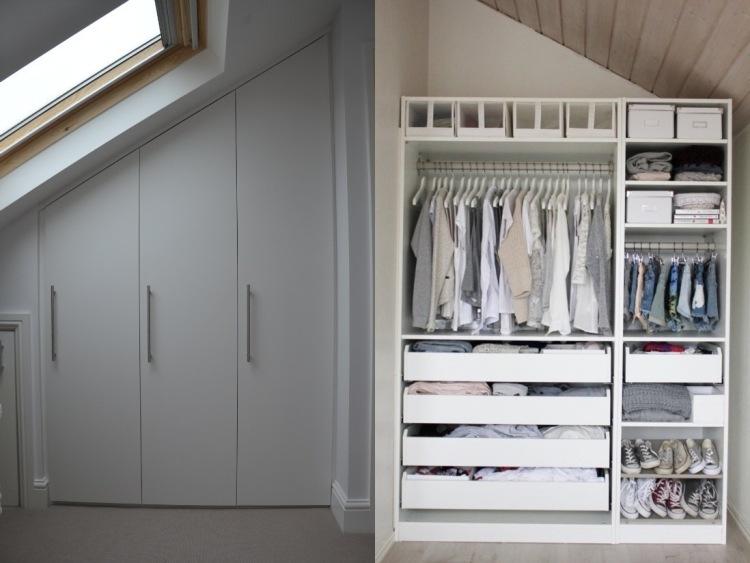 Kleiderschrank selber bauen  Schrank mit Schrge