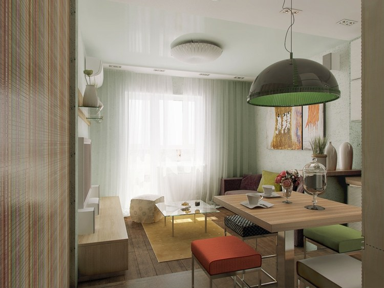 Ideen Mini Apartment In Paris 11 Quadratmeter Clever Umgebaut 13