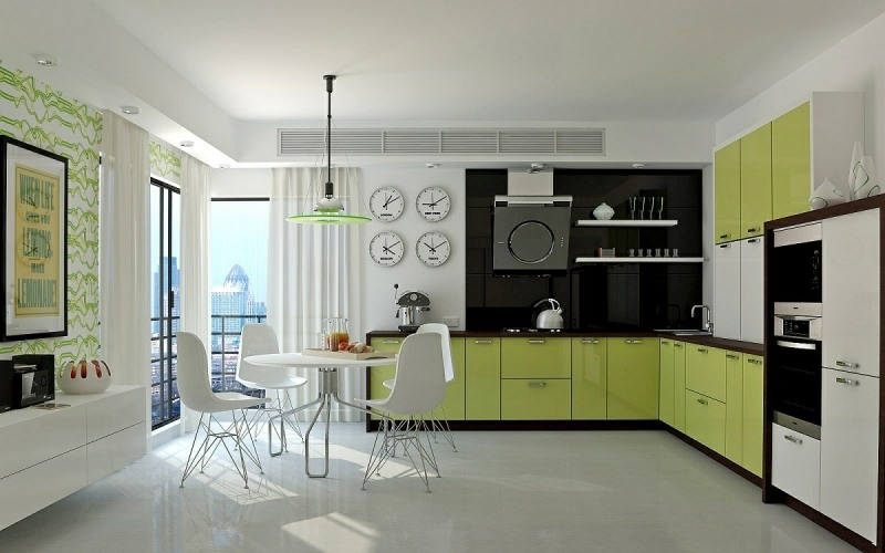 kreative einrichtungsideen, 50s kitchen decor - ofertasvuelo, Design ideen