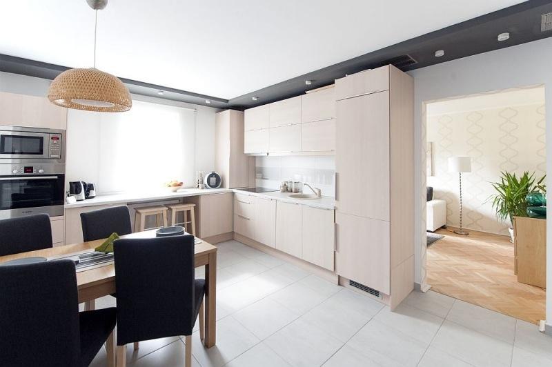Kleine Küche Kreativ Einrichten   Fliesen Landhaus   Haus Ideen