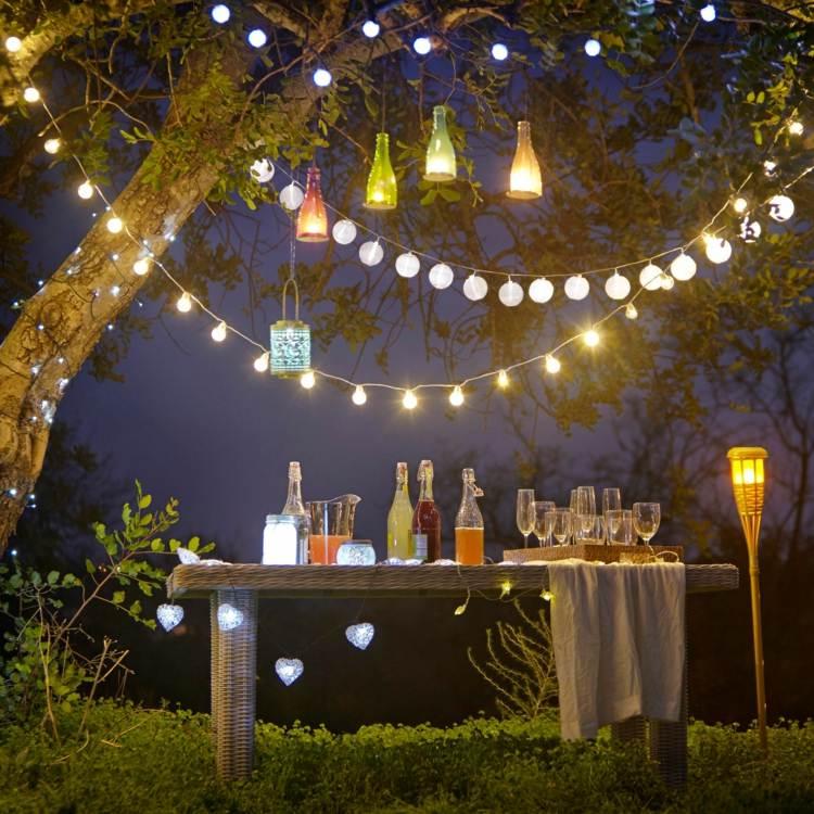 Partydeko zum Sommerfest  30 Ideen fr eine tolle Stimmung