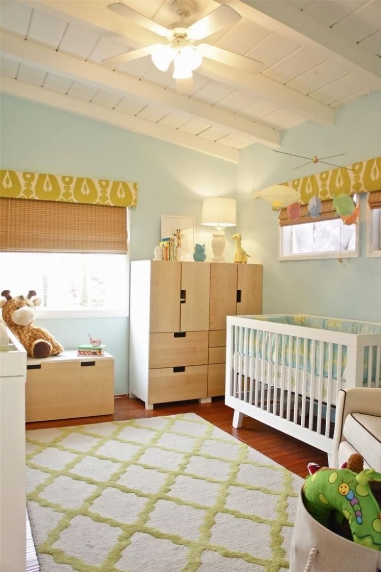 Wandfarbe Mint Kombinieren Schlafzimmer Und Kinderzimmer Kombinieren