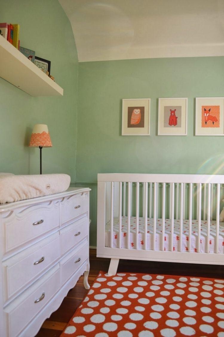 Ideen Baby Und Kinderzimmer Wandfarbe