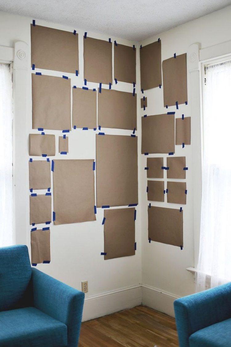 Ahoipopoi Wandgestaltung Mit Bildern Im Wohnzimmer 25 Ideen Bilder  Wandgestaltungcom