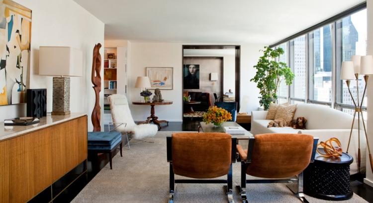 design moderne skulpturen wohnzimmer wohnzimmer deko mit ... - Deko Kommode Wohnzimmer