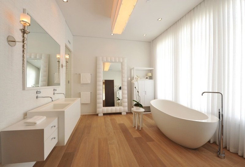 Holzfußboden Im Badezimmer, holzboden im badezimmer – home sweet home, Design ideen