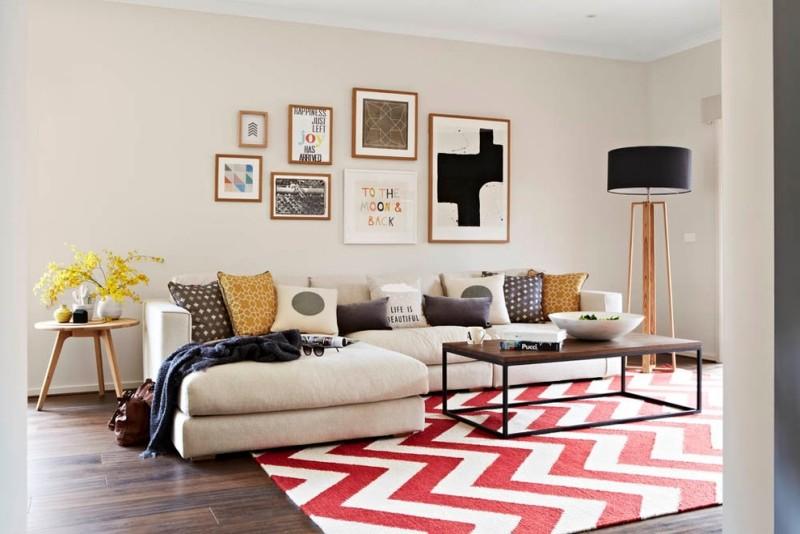 u shaped sofa leather for dog hair kleines zimmer einrichten - 50 wohnzimmer wohnideen