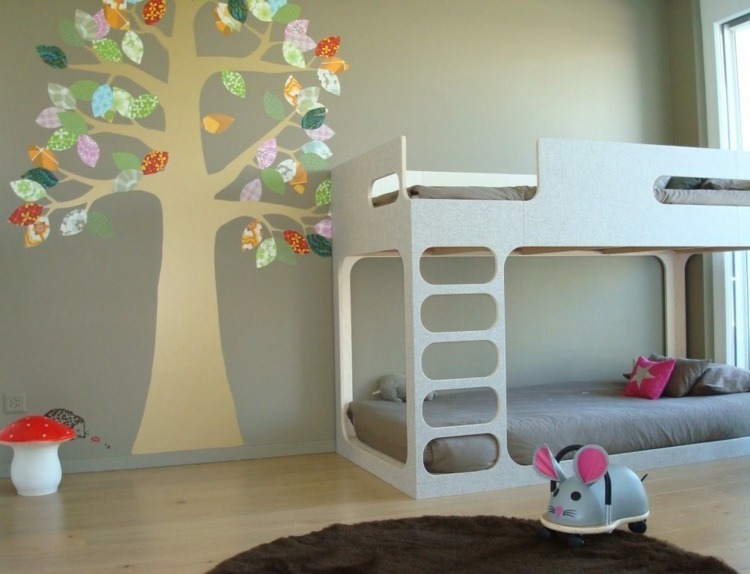 Baby Girl Wallpapers For Rooms Baum Wandtattoo Im Kinderzimmer 24 Kreative Anregungen