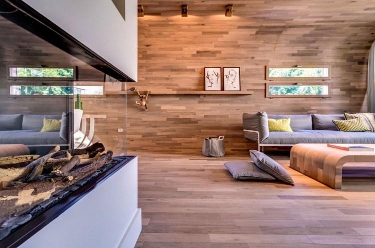 wohnzimmer schwedenofen mit modernem design modelle l » terrassenholz, Mobel ideea