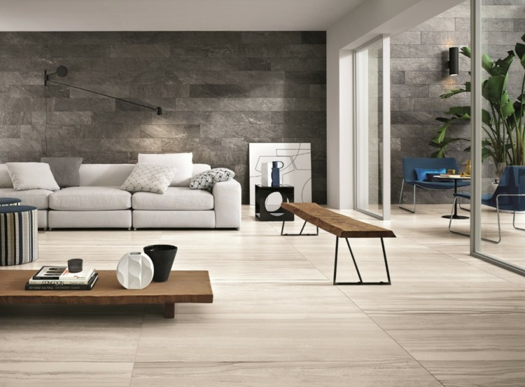 Fliesen Braun Wohnzimmer ~ Inspirierende Bilder Von Wohnzimmer ... Fliesen Design Wohnzimmer