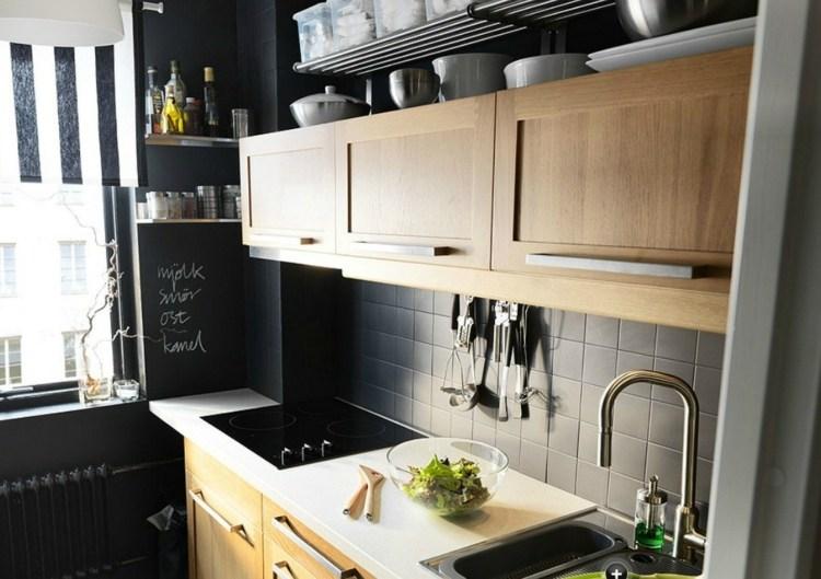 küche hellgrau holz   skifer grau