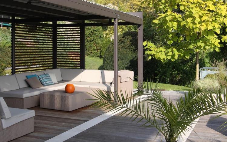 Moderne Terrassen Und Gartengestaltung Terrasse Mit Stufe