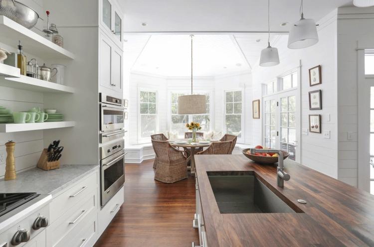 Arbeitsplatte Küche Holz Eiche – Home Sweet Home