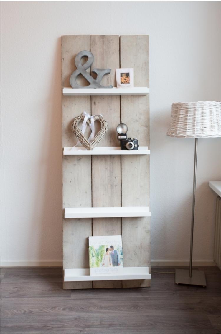 Wandregal Badezimmer Holz | Bücherregal Wand: Designer ...