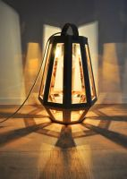 "Lampen Design aus Holz ""ZUID"" inspiriert von Bergbaulampen"