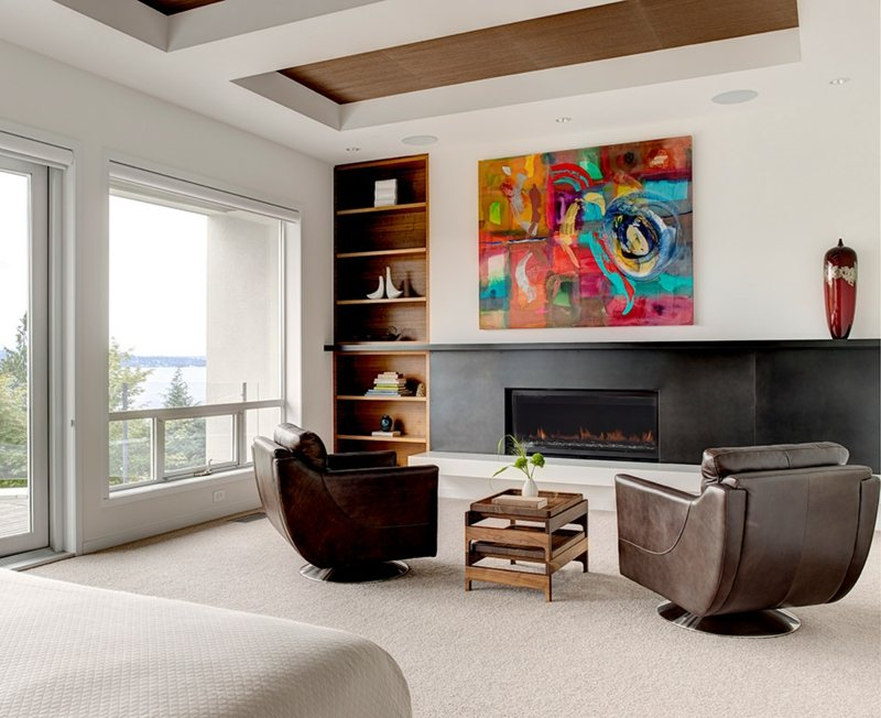 Moderne Wandbilder  Abstrakte Kunst als Wanddeko
