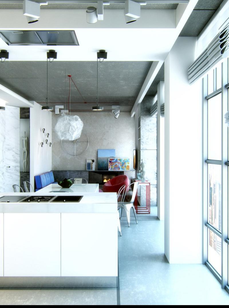 Offene Kche mit Wohnzimmer  Pro Contra und 50 Ideen