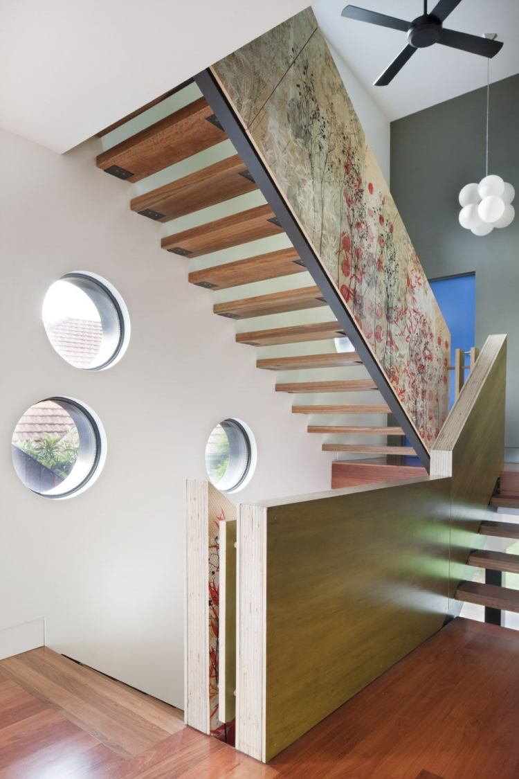 Schwebende Treppen - 50 Ideen Für Zeitgenössisches Design