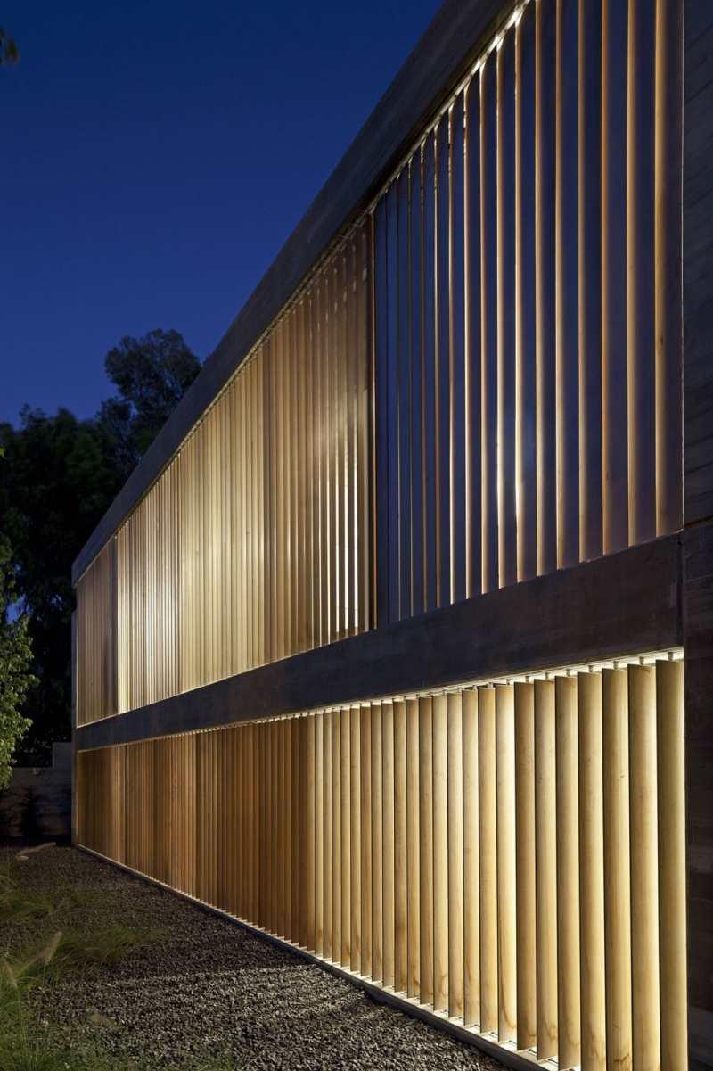 Sichtbeton innen fr Boden und Decke  Ein Architektenhaus