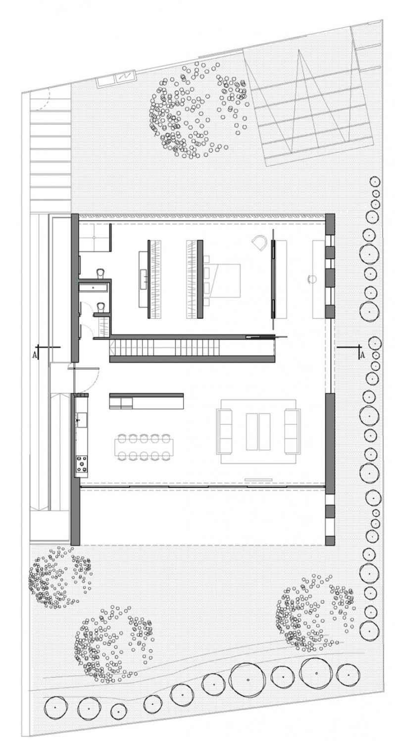 Sichtbeton Innen Für Boden Und Decke - Ein Architektenhaus