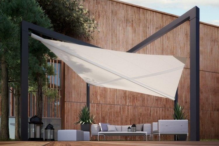 Sonnensegel Als Sonnenschutz Für Die Terrasse 44 Ideen