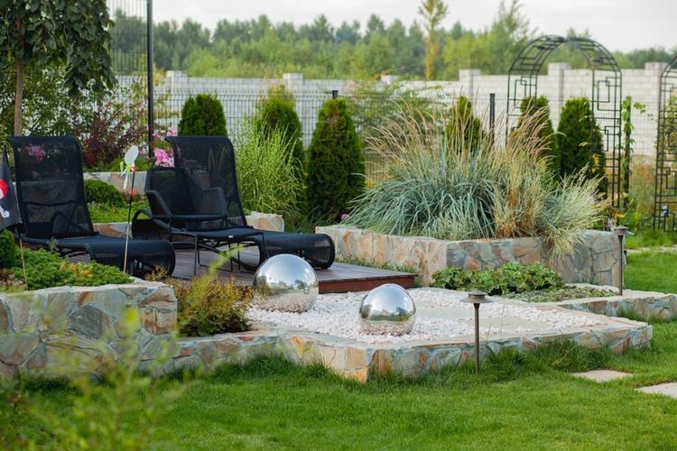 dekokugeln granit - boisholz, Garten und erstellen