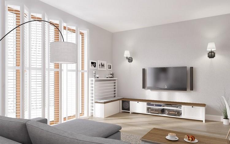 Fernseher an Wand montieren  Die eleganteste Variante