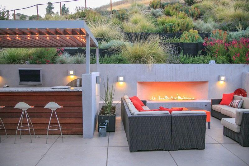 Feuerschale Und Gartenkamin 50 Feuerstelle Ideen