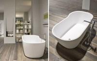 Freistehende Badewanne im Bad - 50 Gestaltungsideen