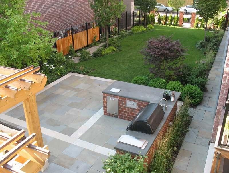 kleinen garten gestalten sichtschutz | möbelideen - Kleinen Garten Gestalten Sichtschutz
