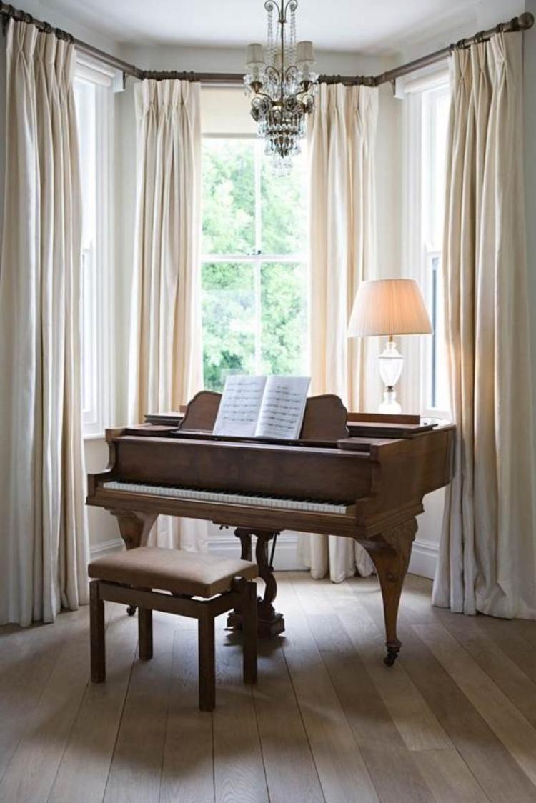 Erkerfenster dekorieren  55 gemtliche Ecken mit Ausblick