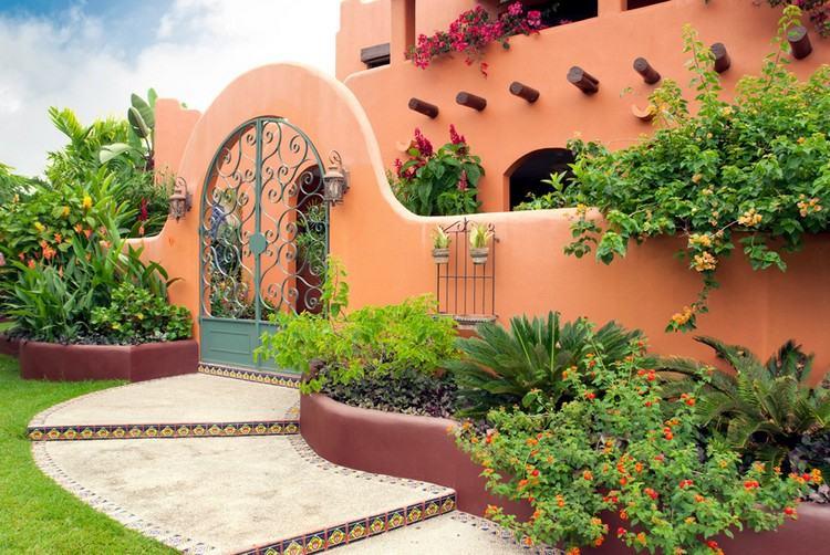 Mediterrane Wandgestaltung Farben und Maltechniken