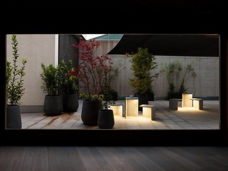 Moderne Gartenbeleuchtung  33 Designer Auenleuchten