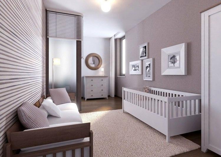 Wandgestaltung Im Babyzimmer Für Ein Originelles Ambiente