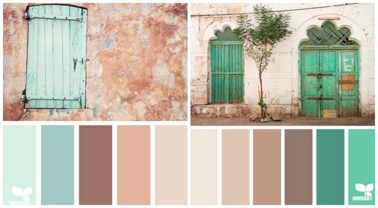 Welche Farbe fr Kche 85 Ideen fr Fronten und Wandfarbe