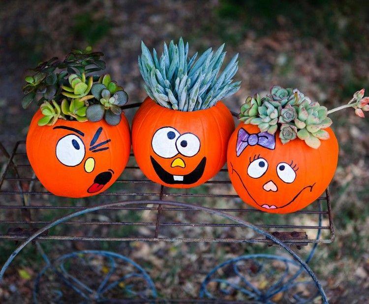 Basteln mit Kindern fr den Herbst und Halloween