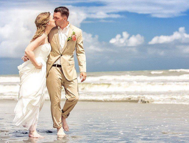 Heiraten am Strand  welcher Anzug fr den Brutigam