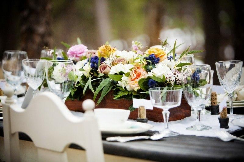 Hochzeitsdeko Ideen im HerbstLook in leuchtenden Farben