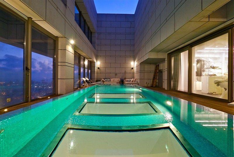 indoor pool bauen traumhafte schwimmbaeder awesome indoor pool ... - Das Modulare Raumtrennsystem Benjamin Hubert
