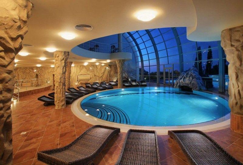 Indoor pool grotte  Indoor Pool Bauen - Boisholz